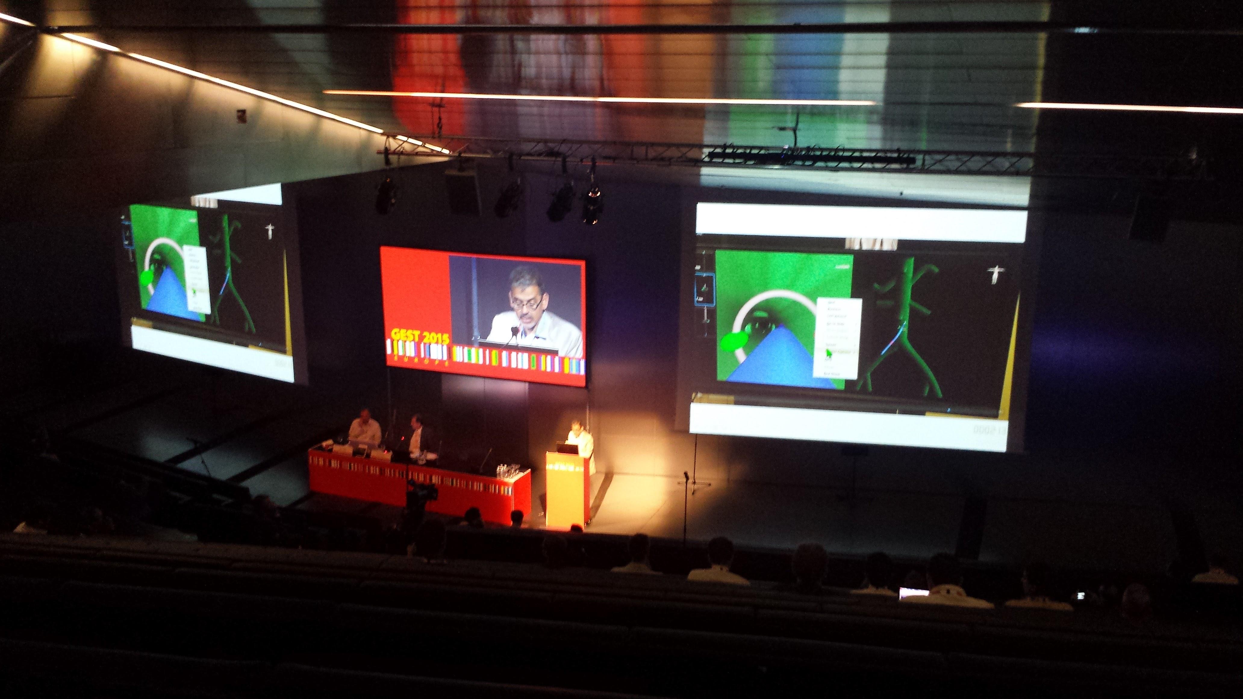Piensa en LED participó en Gest 2015