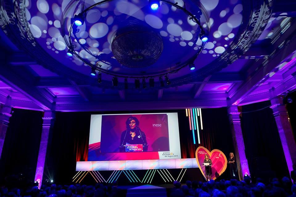 Piensa en LED participó con material audiovisual en los Premios Inese